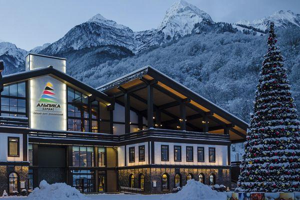 Альпики - Сервис на склоне горного хребта Аибга