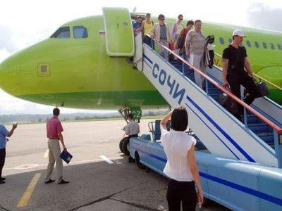 Быстро и экономично можно добраться на самолете