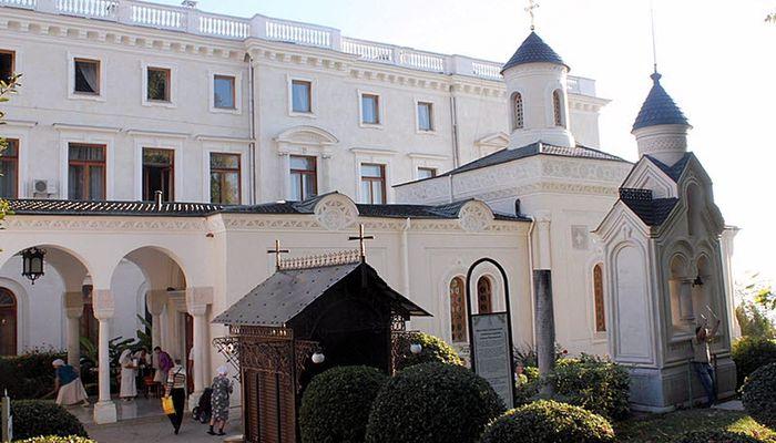Ливадийская Крестовоздвиженская церковь