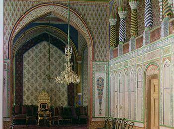Интерьер в Мавританском стиле
