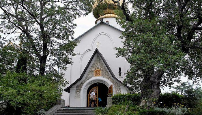 Церковь Святого Николая Чудотворца и Великомученицы Александры в Нижней Массандре