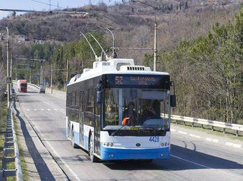 Троллейбус из Симферополя в Алупку