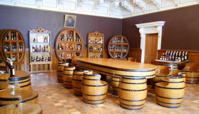 Гостевой зал для дегустаций