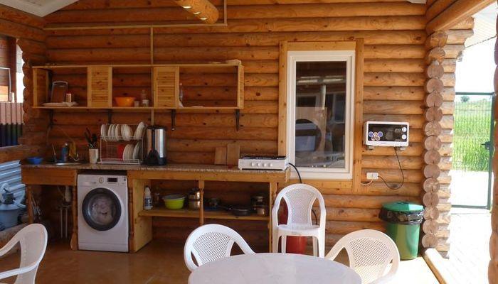 Летняя кухня со всем необходимым