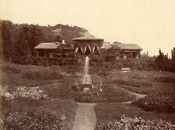 Дворец в 19 веке