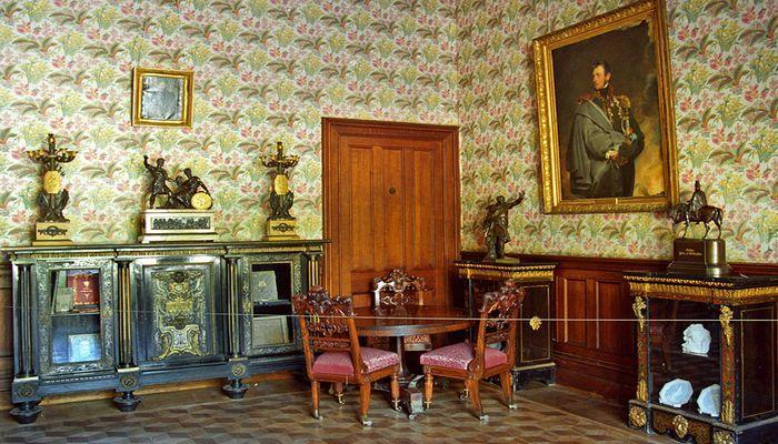 Интерьер царского поместья