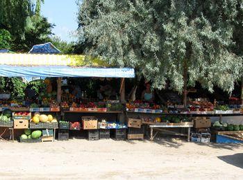 Местный рынок станицы