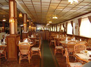 Ресторан на территории пансионата