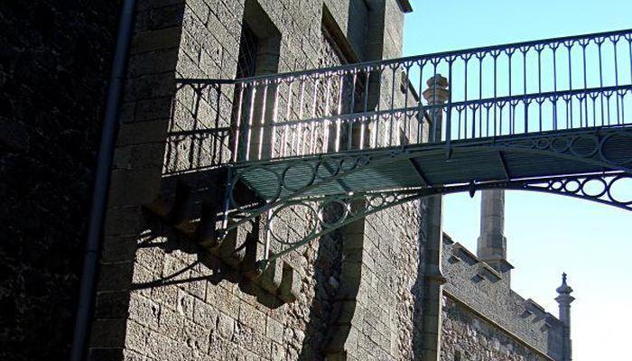 Ажурный чугунный мост
