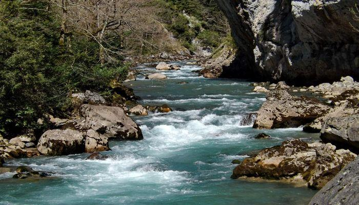 Удивительной красоты - река Гега