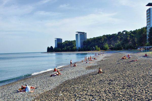 Побережье Центрального пляжа