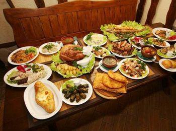 Блюда различной кухни