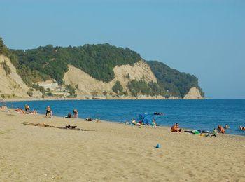 Пляж пригорода Лдзаа
