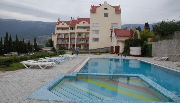 Размещение в отеле Крымский