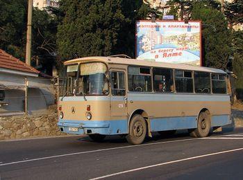 77 маршрут автобуса, Массандра