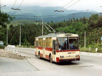 Троллейбусное сообщение Симферополь-Ялта