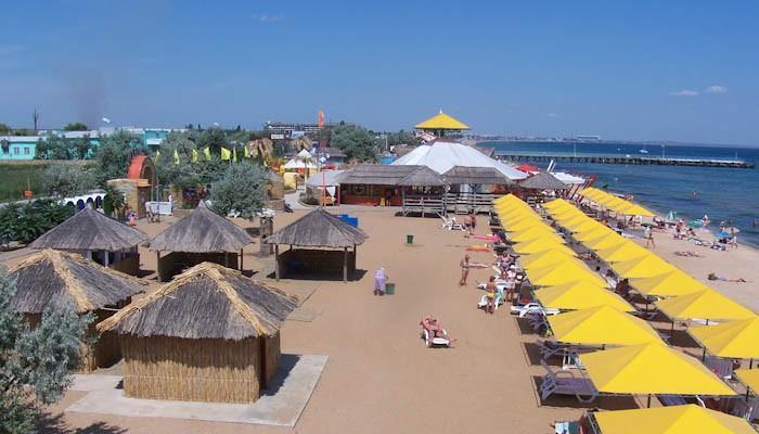 Пляж посёлка Береговое