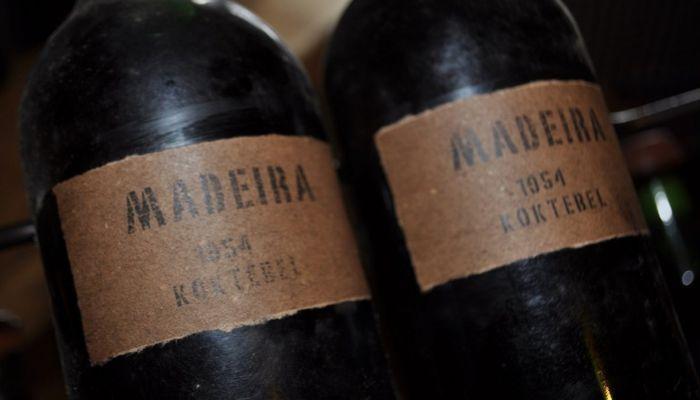 Знаменитое коктебельское вино Мадера