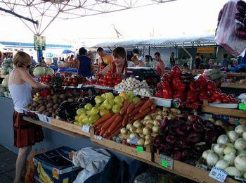 Продуктовые рынки в окрестностях