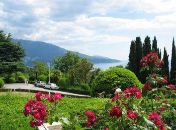 Красивые пейзажи курорта