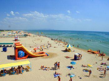 Особенности Центрального пляжа