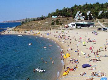 Городской пляж Гаспры