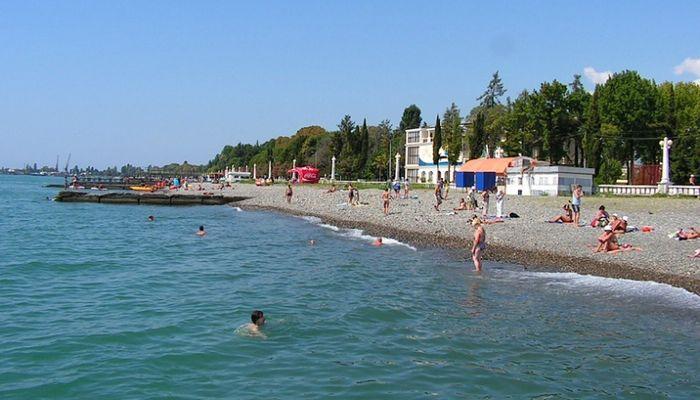 Побережье пляжа Локомотив