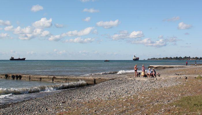 Агудзерский пляж