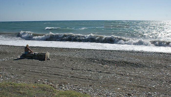 Пляж Гумиста